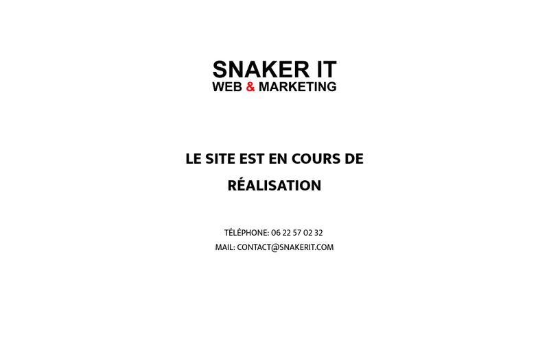 Site internet de Snaker It