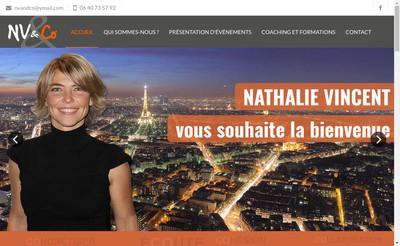 Site internet de Nathalie Vincent & Co