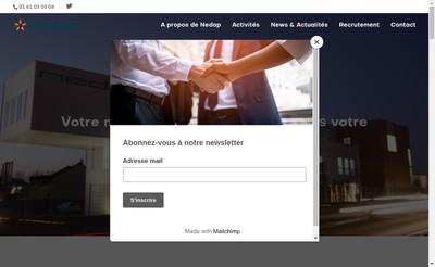 Site internet de Nedap France