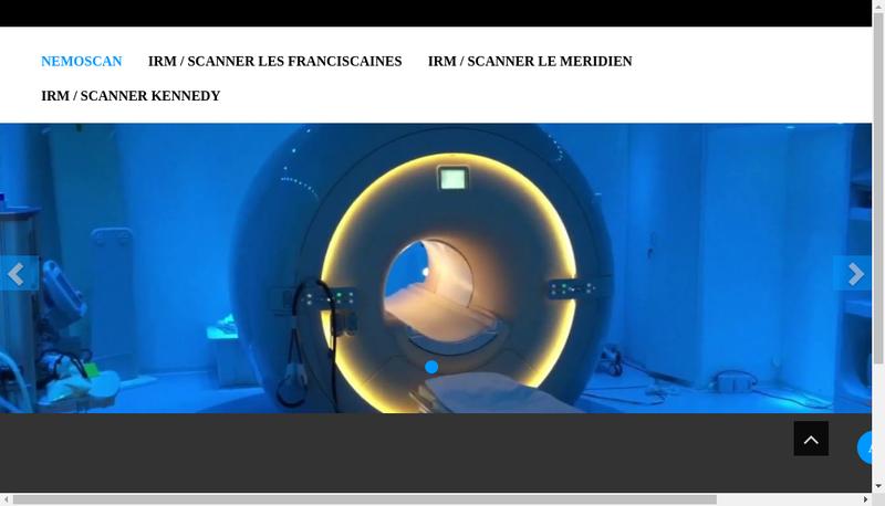 Capture d'écran du site de Nemoscan