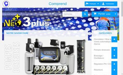 Site internet de Neo3Plus