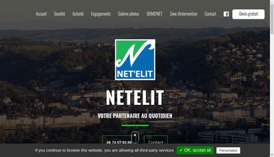 Site internet de Net'Elit