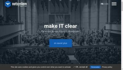 Site internet de Netsystem
