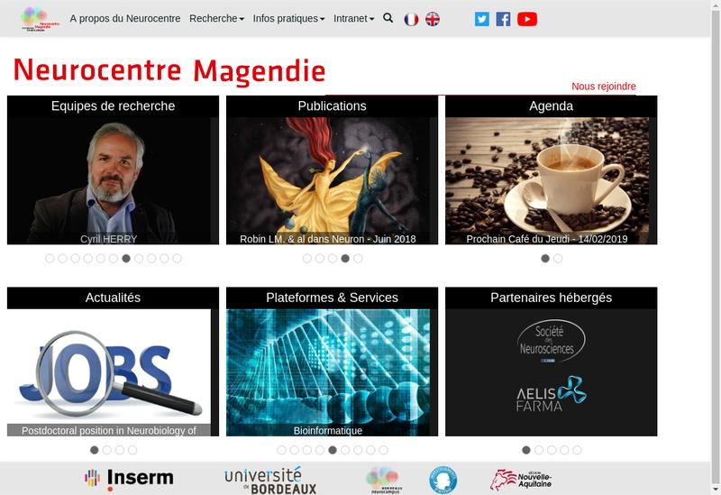 Capture d'écran du site de Giovanni Marsicano