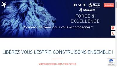 Site internet de Novances