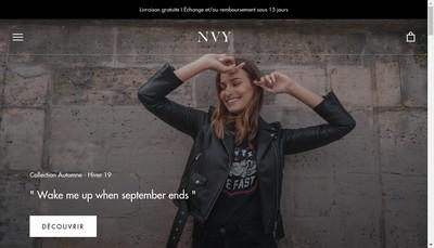Site internet de NVY