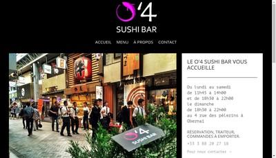 Site internet de Le Sushi d'O