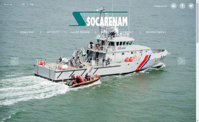 Site internet de Societe Construct Reparat Navale & Mecanique