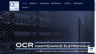 Site internet de Ocr Rhone Alpes