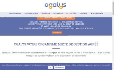 Site internet de Ogalys