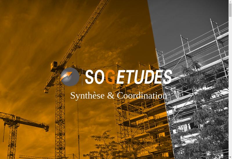 Capture d'écran du site de Sogetudes Industries