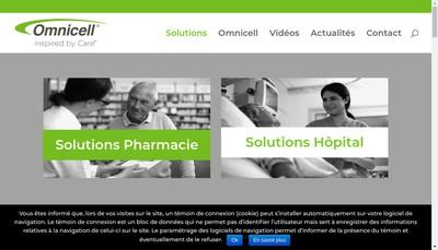 Site internet de Mach4 Pharma Systems SAS