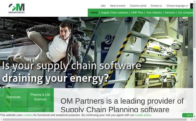 Site internet de Om Partners France