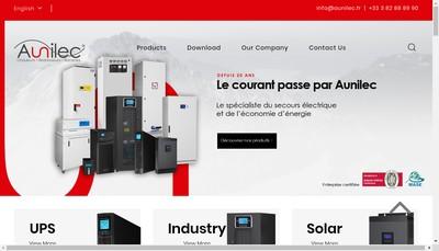 Site internet de Aunilec