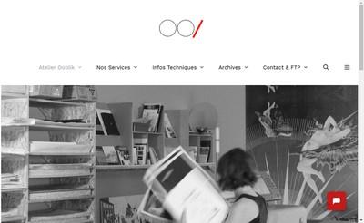 Site internet de Atelier Ooblik