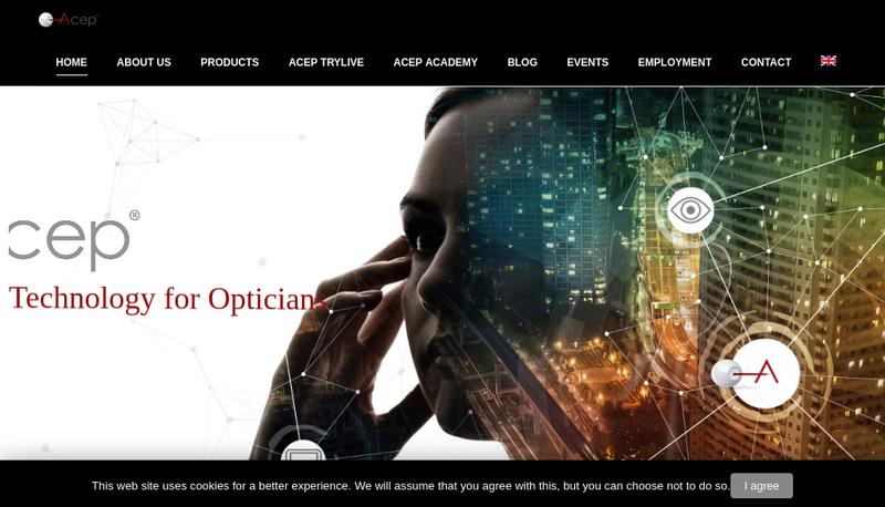 Capture d'écran du site de Acep France