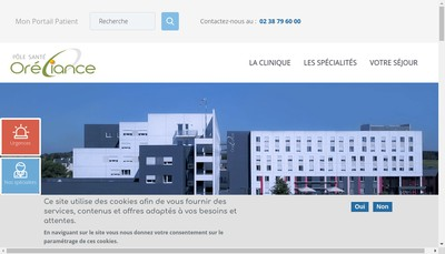 Site internet de Les Longues Allees