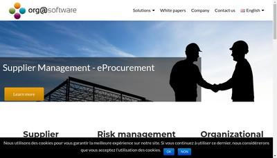 Site internet de Orgasoftware