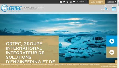 Site internet de Orys