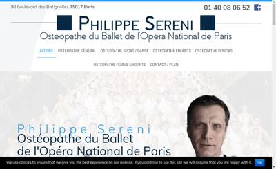 Site internet de Philippe Sereni
