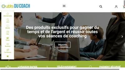 Site internet de Outilsducoach.com