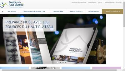 Capture d'écran du site de SAS Montagno