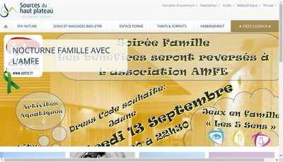 Site internet de SAS Montagno