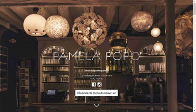 Site internet de Pamela Popo