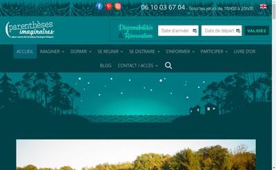 Site internet de Parentheses Imaginaires