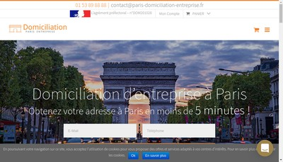 Site internet de SARL Eciffice