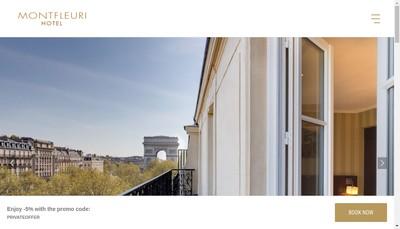 Site internet de Hotel Mont Fleuri