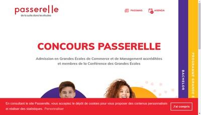 Site internet de Association Passerelle