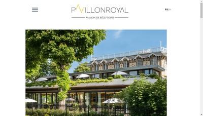 Site internet de Societe du Pavillon Royal