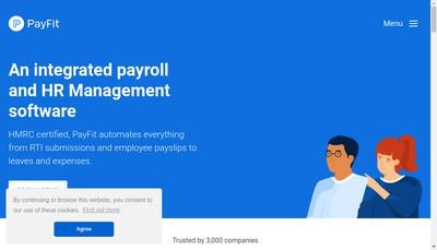 Site internet de PAYFIT