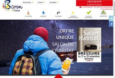 Site internet de Baron Philippe
