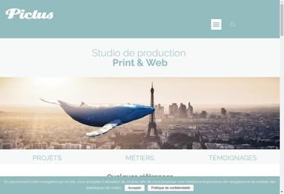 Site internet de Pictus