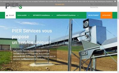 Site internet de Pier Services