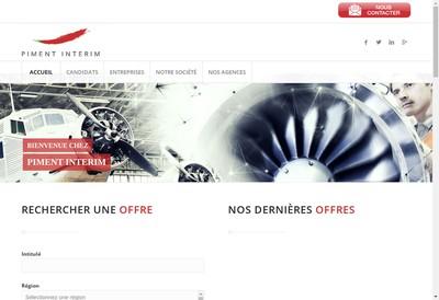Site internet de Groupe Piment