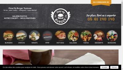 Site internet de Jack'S Express