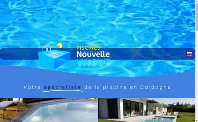 Site internet de Piscine Nouvelle Vague