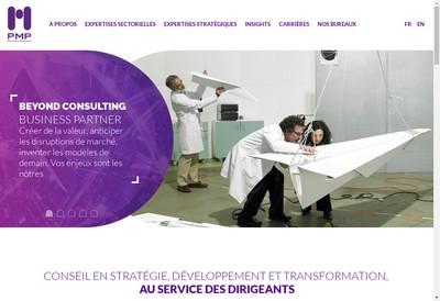 Site internet de Pmp Conseil
