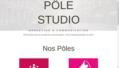 Site internet de Pole Studio