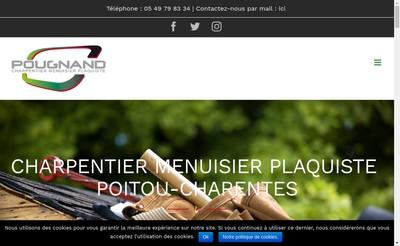 Site internet de M Pougnand