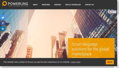 Site internet de Powerling
