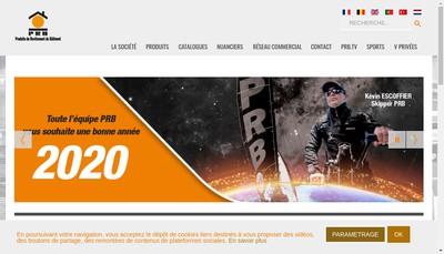 Site internet de Produits de Revetement du Batiment