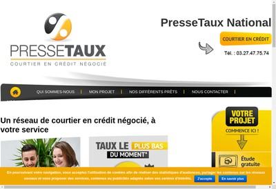 Site internet de Pressetaux