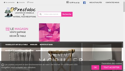 Site internet de Prestaloc