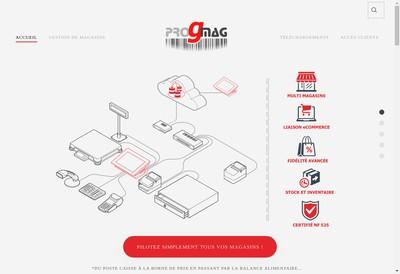 Site internet de Progmag