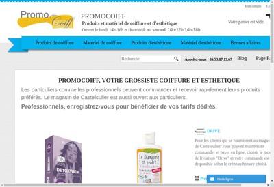 Site internet de Promocoiff