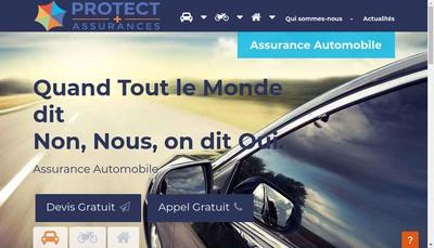 Site internet de Protect Plus Assurances
